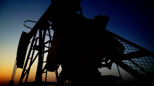 Oil Field Oil Pump 15 Clips In 1. oil and gas stock videos & royalty-free footage