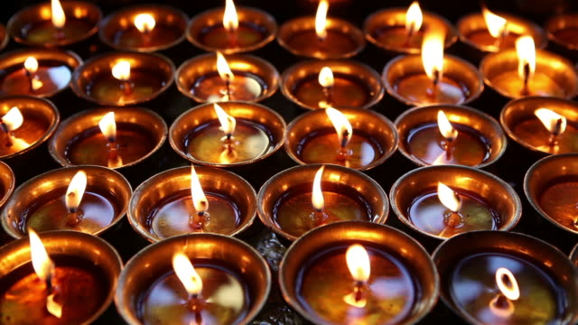 oil lamps diya video