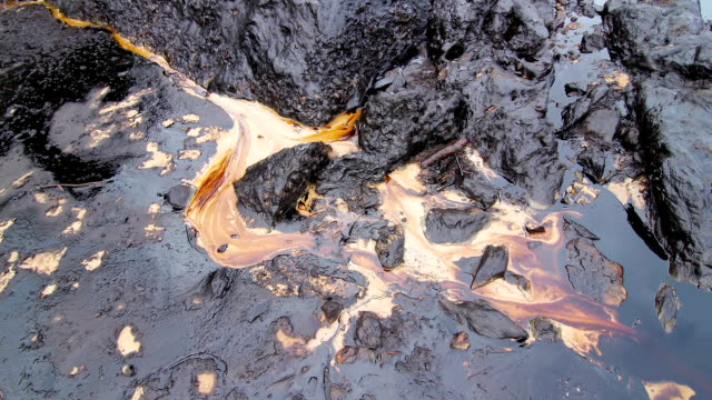 Oil spill on Gulf:Time Lapse video