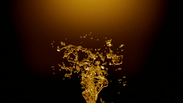 Oil splash with alpha 3d animation presents Oil splash with alpha. cooking oil stock videos & royalty-free footage
