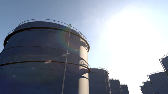 Oil storage tanks time lapse While fuel storage tanks time lapse storage tank stock videos & royalty-free footage