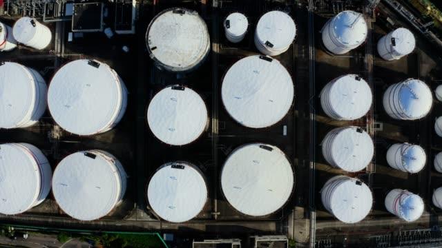 Oil tank in Hong Kong, China