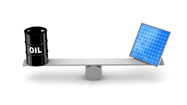 Oil vs Solar Panels video