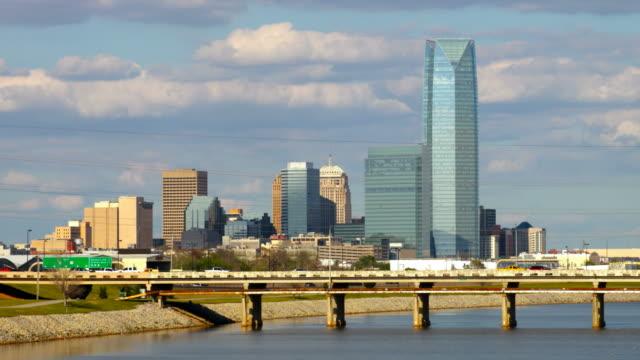 City Of Dallas Careers >> Royalty Free Oklahoma City Skyline HD Video, 4K Stock ...
