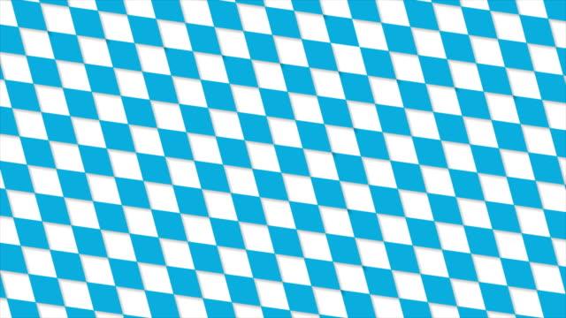 Oktoberfest-abstrakte geometrische Muster-video-animation – Video