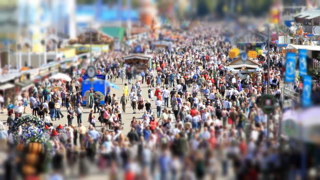 Oktoberfest Munich with Tilt Shift Effect
