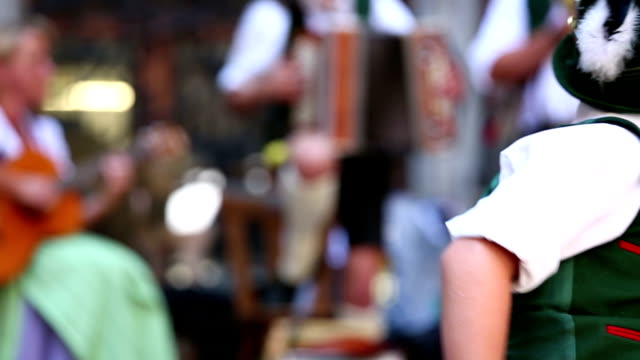oktoberfest with bavarian boy - oktoberfest stock videos and b-roll footage