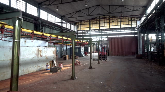 vidéos et rushes de vieille abandonnée usine - absence