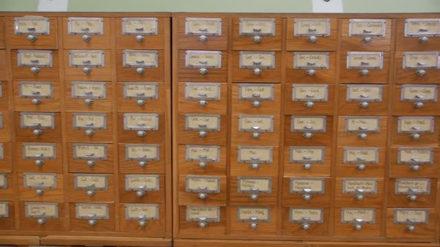 Old Archive Cabinets