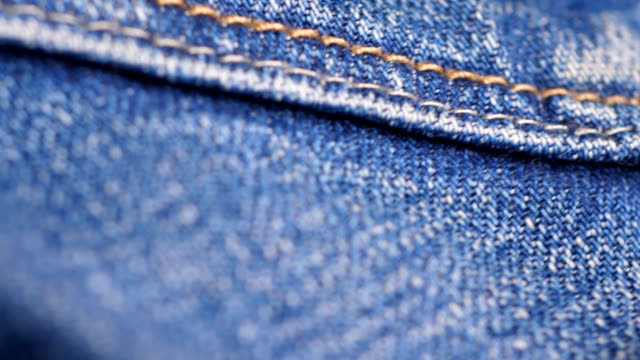 old blue jeans - dżinsy filmów i materiałów b-roll