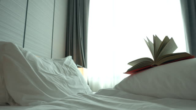 Old book in the bedroom