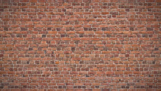 old brick wall - mattone video stock e b–roll