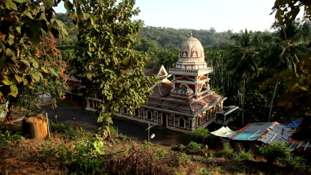 Old Buddhist temples in Goa, India video