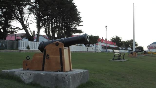 Old Cannon In Port Stanley, Falkland Islands (Islas Malvinas).