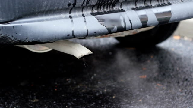 Old Car Pollution video