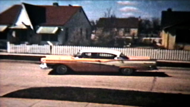 Old Cars Backing Up  (1964 Vintage 8mm film) video