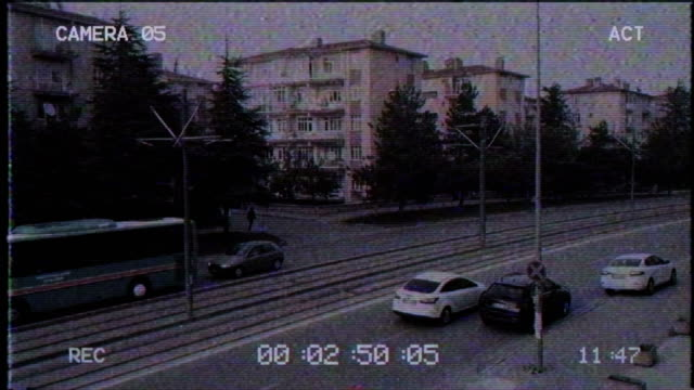 Old CCTV | Security Camera 3840x2160 VCR camera photographic equipment stock videos & royalty-free footage