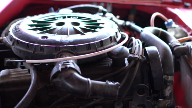 Old Chevrolet Engine Old Chevrolet Engine sports car stock videos & royalty-free footage