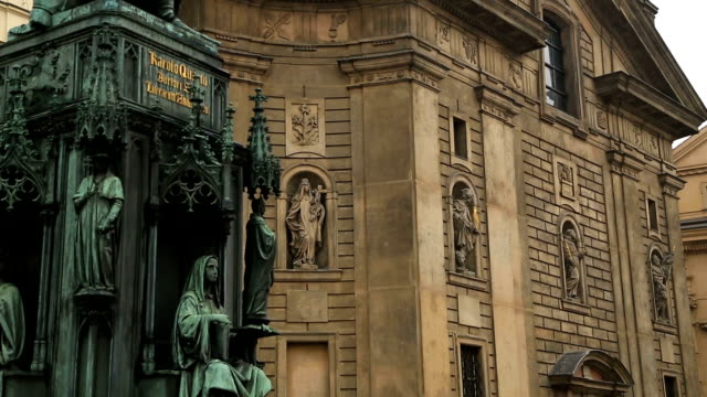 old church in prague - politica e governo video stock e b–roll