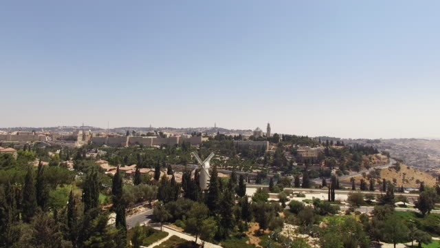 Old City of Jerusalem in Israel video