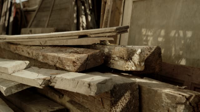 old construction wood old construction wood timber stock videos & royalty-free footage