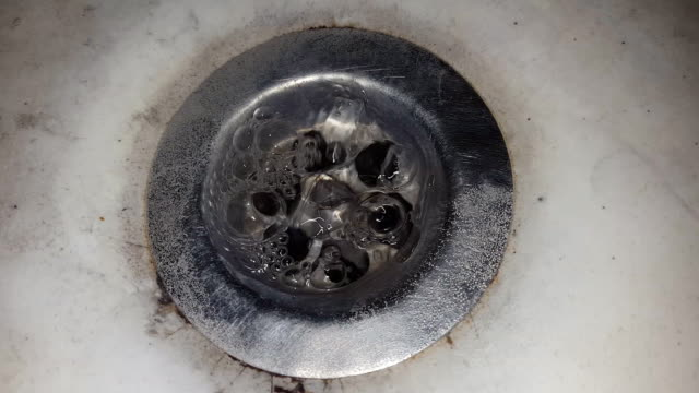 Old dirty wash basin video