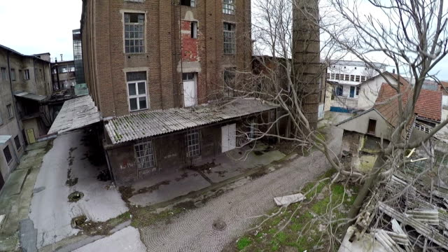 古い工場 - 煉瓦点の映像素材/bロール