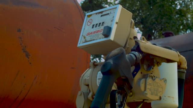 Old Farm Gas Pump