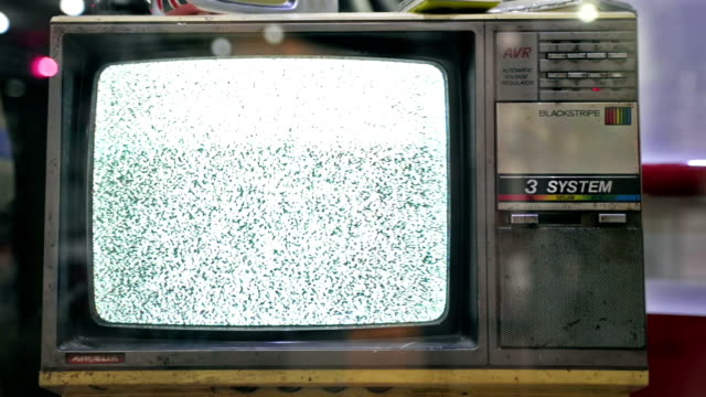 Old fashion Television. video