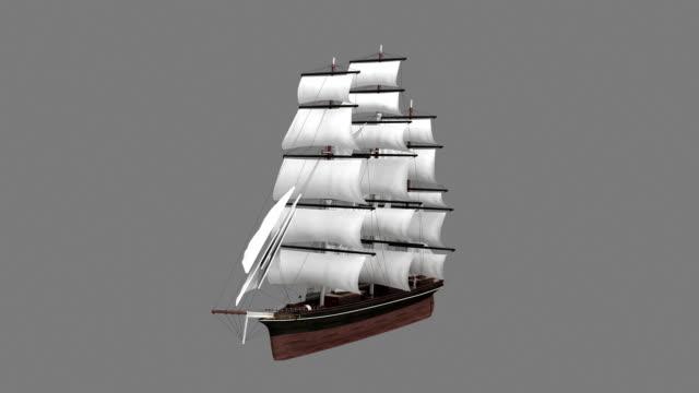 Ancienne tour de navire militaire façonné avec luma mat - Vidéo