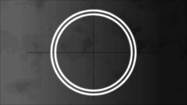 4K Old Film Effect High Definition old film video footage, ideal for compositing. Retro and old school style. Motion graphic and animation background. Circle on center place for your logo and text. video