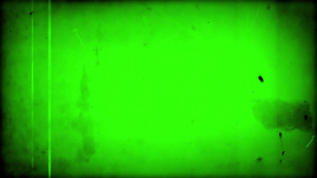 Old Film - Green Overlay with Audio (Full HD)