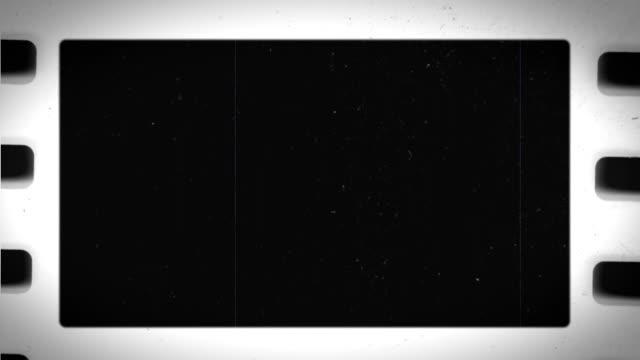 vecchio film bobina (loop - cilindro video stock e b–roll