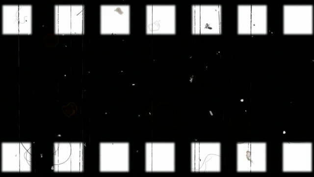 old film strip video