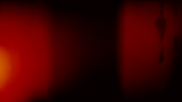 Old Film Warm Light Leaks Loop - with Audio video