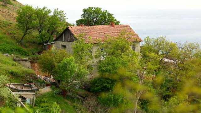 old fisherman's cottage on the coast video