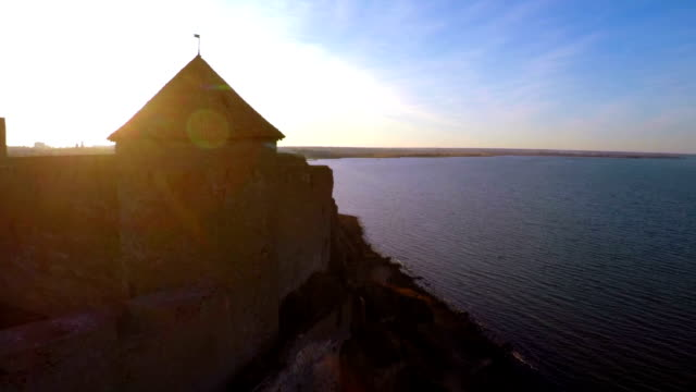 Old Fortres at Sunset. video