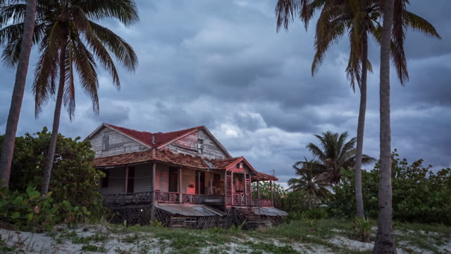 Old House On The Beach In Varadero, Cuba