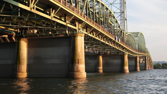 HD old I-5 Bridge to Oregon