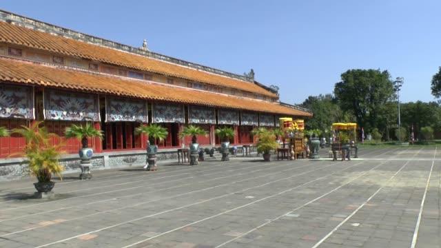 Old imperial city Hue Vietnam video