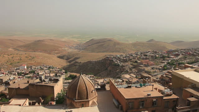 hd: old mardin city - vintage architecture stock videos & royalty-free footage