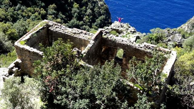 gamla klostret afkule - anatolien bildbanksvideor och videomaterial från bakom kulisserna