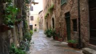 istock Old narrow streets of Pienza, Italy 1220089231