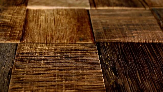 vidéos et rushes de vieux fond en bois naturel. - bois texture