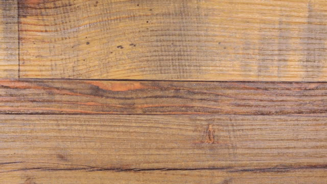 Old natural wooden background. video