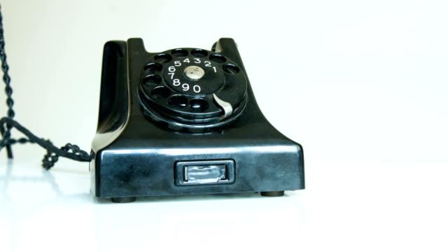 vidéos et rushes de vieux téléphone - image teintée