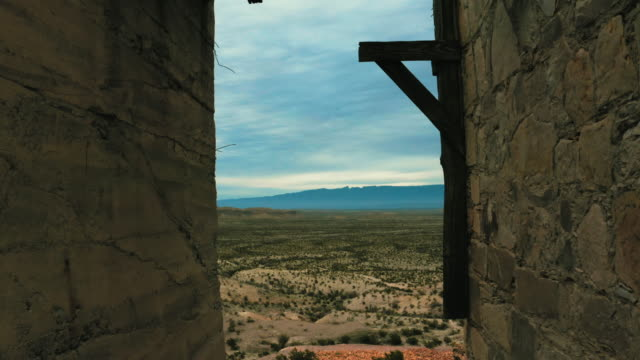 Old Quick Silver Mine looking out over Big Bend