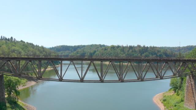 old railway bridge (aerial view)