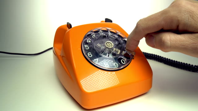 Old red telephone Old red telephone telefone stock videos & royalty-free footage