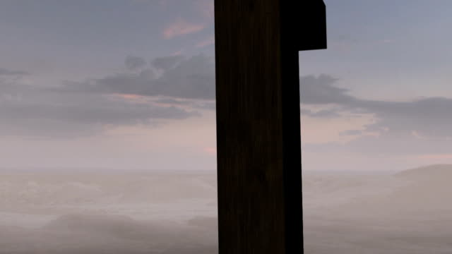 Old Rugged Cross Sunrise Clip 1 of 4 video
